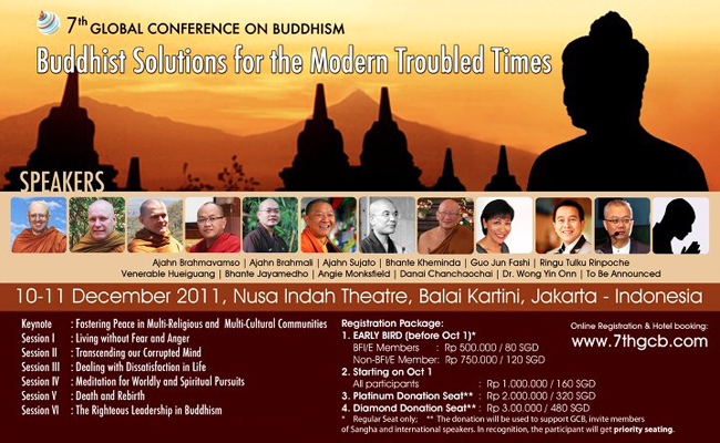 11 Pembicara 7th Global Conference on Buddhism