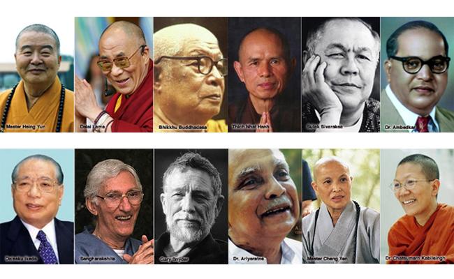 Tokoh Buddhis Dunia dan Karyanya