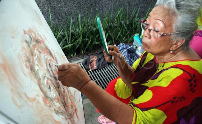 """Putri Maestro Lukis Affandi: """"Buddhisme di Dalam Hati Saya"""""""