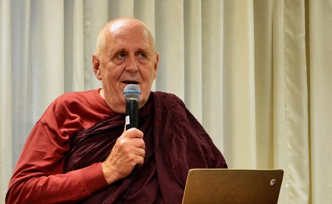 Malam Ini Dhammatalk Bhikkhu Vimalaramsi di Anggrek Dhamma Saraniya