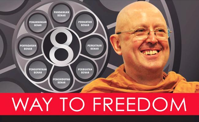 Horee! Ajahn Brahm Datang Lagi Bawa Jalan Menuju Keterbebasan