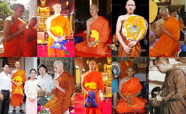 Inilah Para Selebriti Thailand yang Jadi Bhikkhu (Bagian 1)