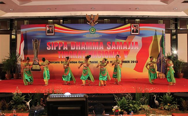 DKI Jakarta Pertahankan Gelar Juara Umum Sippa Dhamma Samajja