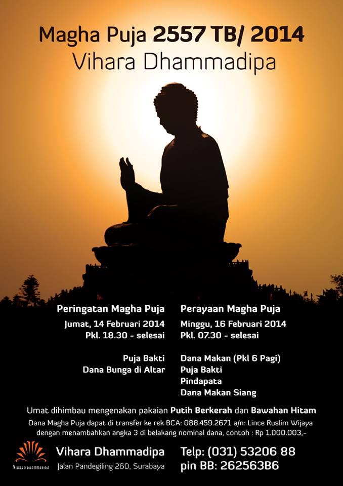 Magha Puja 2557/2014 Vihara Dhammadipa