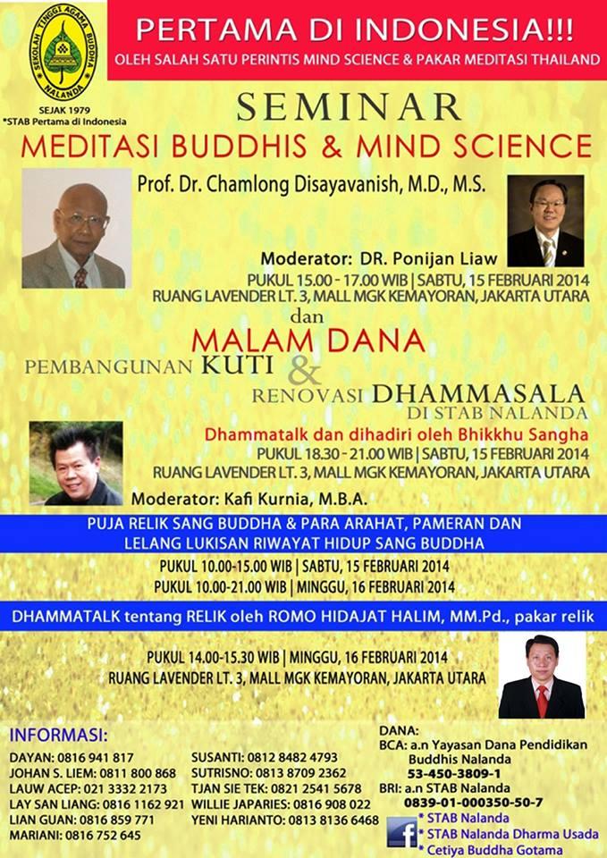 Meditasi Buddhis dan Mind Science