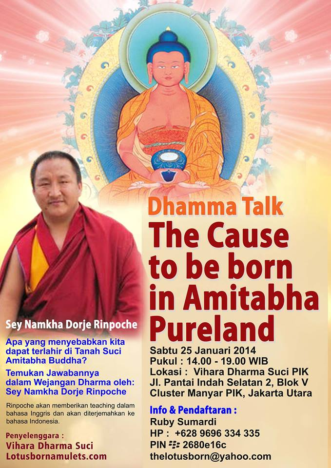 The Cause to be Born in Amitabha Pureland