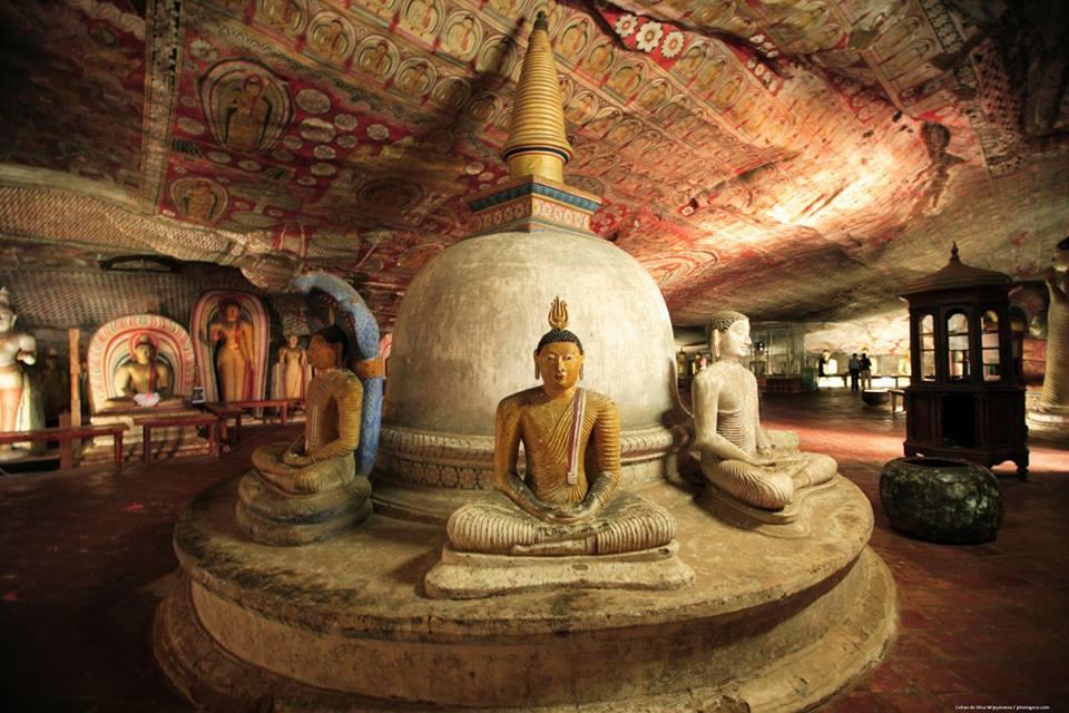 Dambulla Temple: Vihara di Dalam Goa