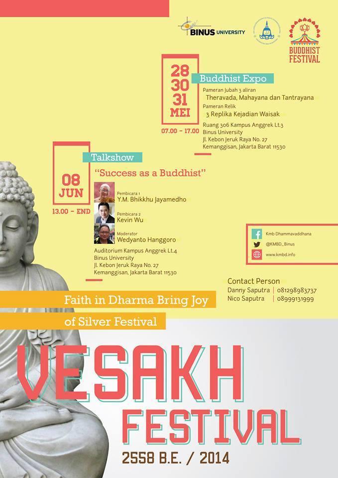 Vesakh Festival 2558 BE/2014