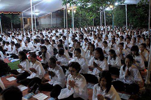 20140722 Umat Buddha Jawa Tengah dan DIY Rayakan Asadha dengan Atthasila_2