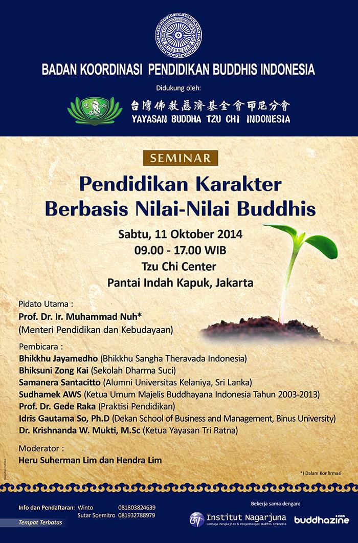 Pendidikan Karakter Berbasis Nilai-nilai Buddhis