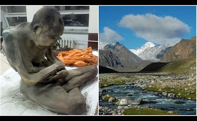 Ditemukan Mumi Bhiksu Mongolia Berusia 200 Tahun dalam Posisi Bersila