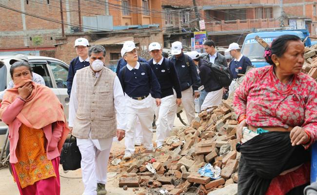 Tzu Chi Kirim Relawan dan Bantuan ke Nepal