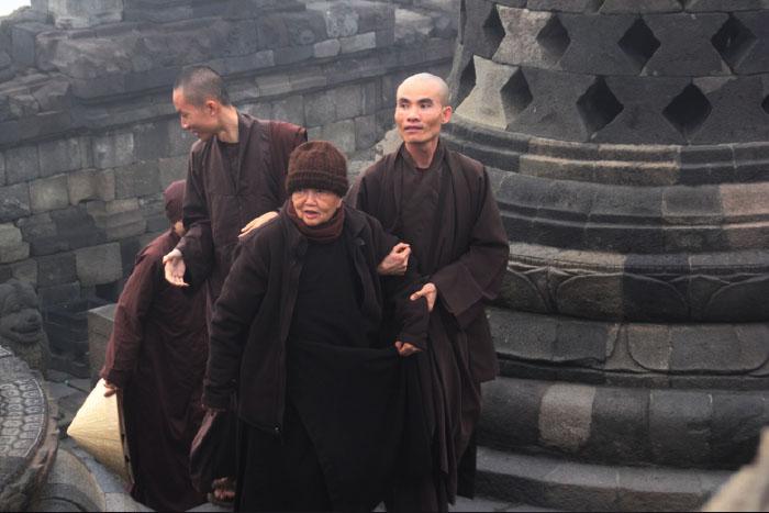 Fisik yang mulai lemah tak menyurutkan semangat Sister Chan Kong