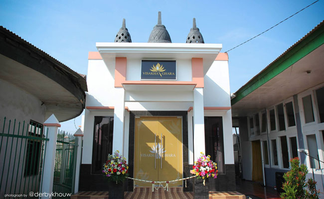 Peresmian Wihara Visakha Ghara di Lapas Wanita Kelas 2A Tangerang