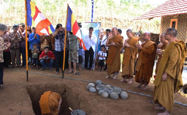 Sebuah Candi Dibangun di Desa Para Pembuat Candi Borobudur