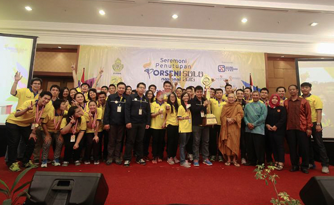 Banten Juara Umum Porseni Nasional Patria V