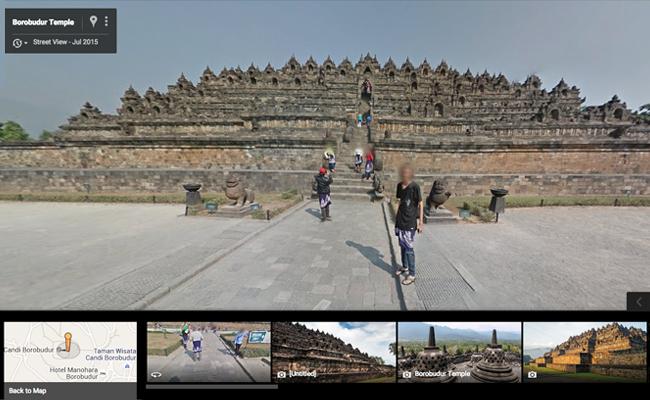 Google Culture Institute dan Street View Tampilkan Relief Candi Borobodur