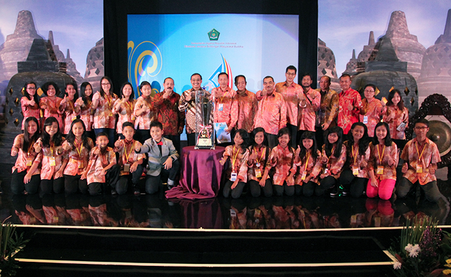 Jawa Timur Sabet Gelar Juara Umum Sippa Dhamma Samajja VI