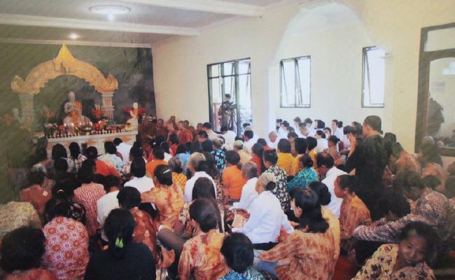 Vihara di Pagergunung, Temanggung Ikut Meningkatkan Perekonomian dan Pendidikan Umat