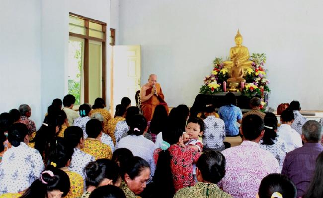 Bhikkhu Jotidhammo: Sangha Dana Bisa Dilakukan Bukan Hanya Saat Kathina