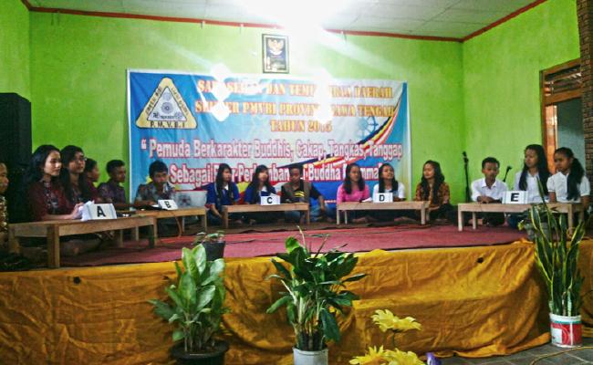 Pemuda Buddhayana Jawa Tengah Adakan Sarasehan Temu Karya di Wonosobo