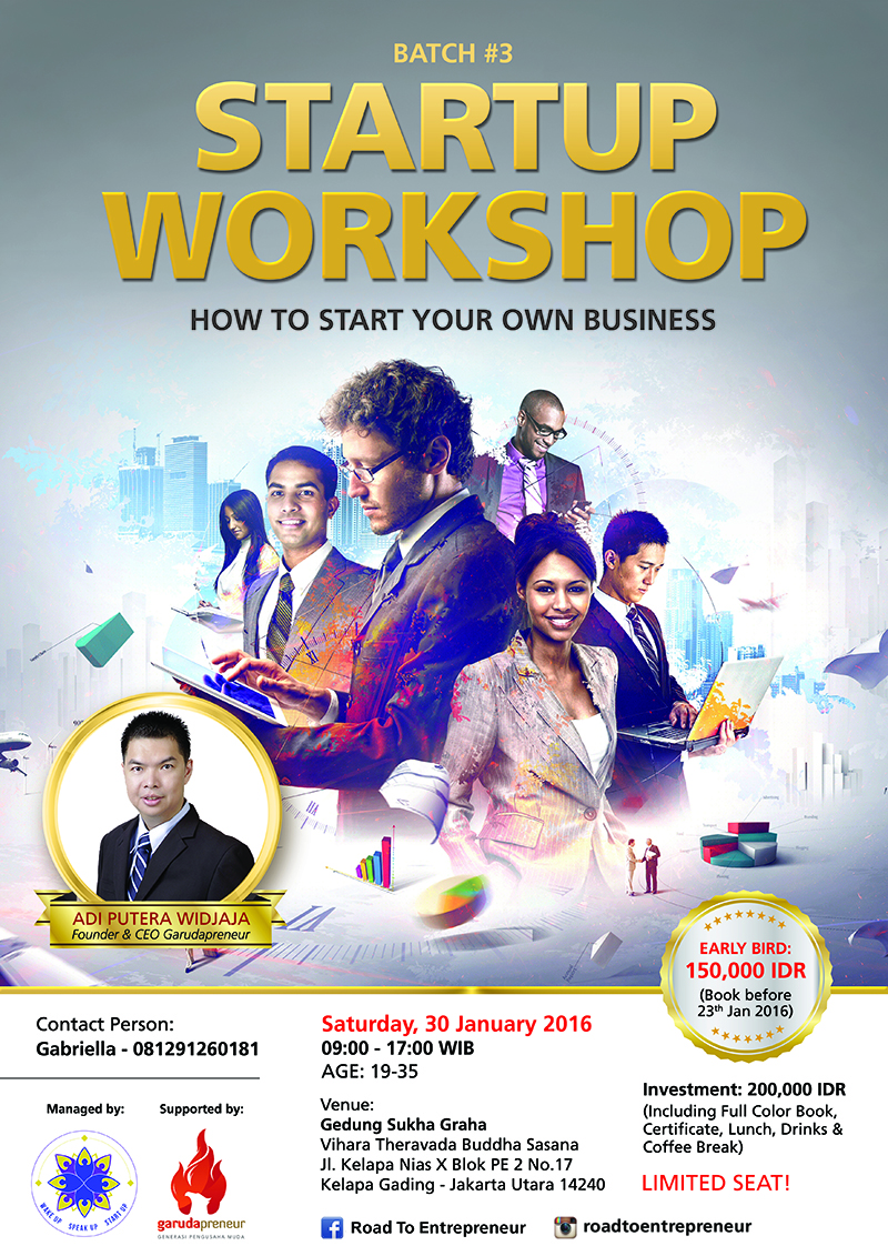 Startup Workshop: How to Start Your Own Business
