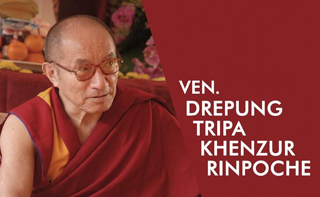 Mengenal Ven. Drepung Tripa Khenzur Rinpoche, Pemegang Utama Silsilah Ajaran Biara Drepung Tibet