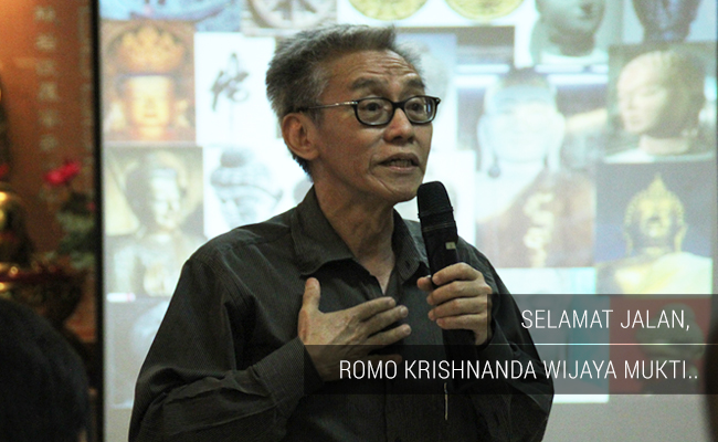 Selamat Jalan, Romo Krishnanda Wijaya Mukti…