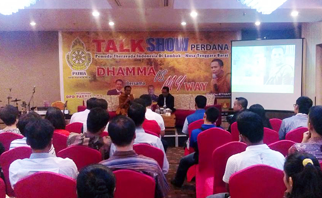 Umat Buddha di Nusa Tenggara Barat Haus akan Asupan Dhamma
