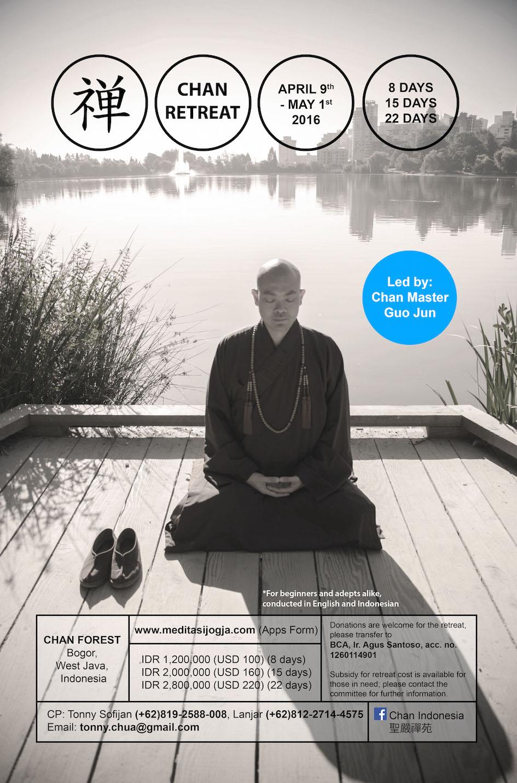 Retret Meditasi Chan bersama Master Guo Jun