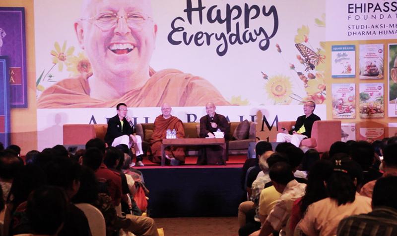 20160412 Resep Ajahn Brahm dan Master Guo Jun agar Bahagia Setiap Hari 2