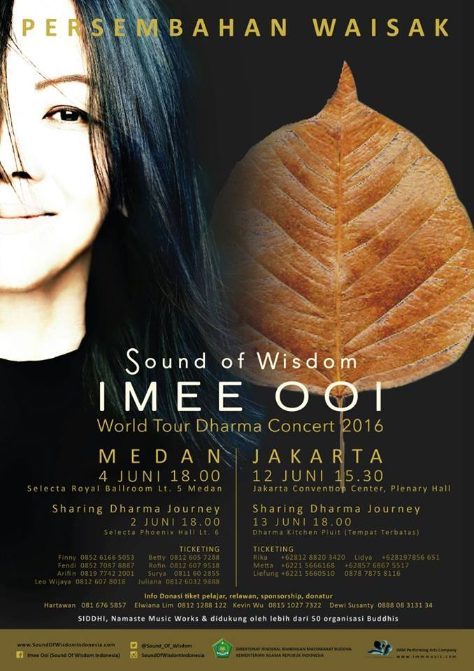 Sound of Wisdom Imee Ooi