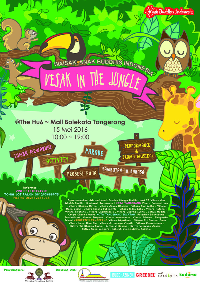 Vesak in the Jungle