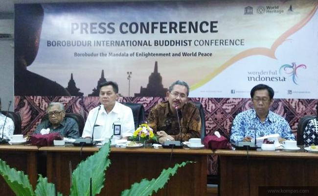 Candi Borobudur Gelar Konferensi Buddhis Internasional untuk Pertama Kalinya