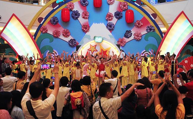 Taburan Bintang Kebajikan di Perayaan Waisak Anak Buddhis