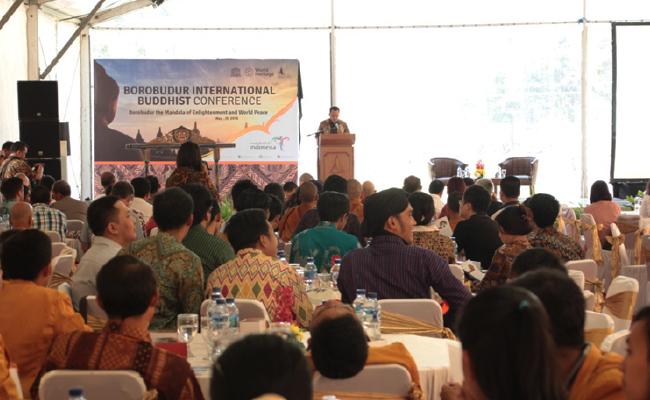 Jelang Waisak, Borobudur Gelar Konferensi Buddhis Internasional