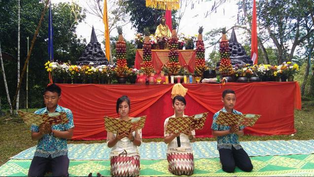 20160521 Umat Buddha Sumatera Selatan Rayakan Waisak di Bukit Siguntang 6