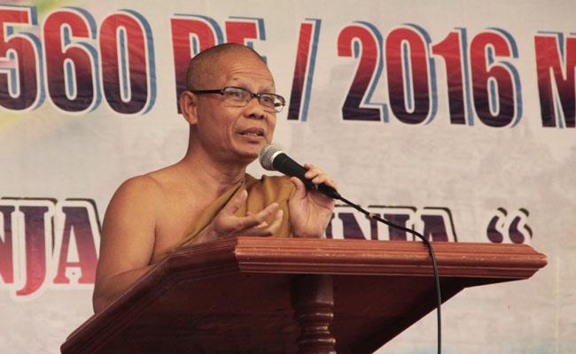 Rayakan Waisak di Jepara, Bhikkhu Dhammasubho Tekankan Pentingnya Budaya Puja bagi Masyarakat Indonesia