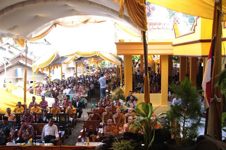 20160530 Rayakan Waisak di Jepara, Bhikkhu Dhammasubho Tekankan Pentingnya Budaya Puja bagi Masyarakat Indonesia 2