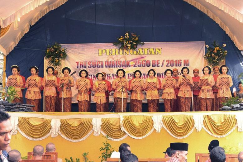 20160530 Rayakan Waisak di Jepara, Bhikkhu Dhammasubho Tekankan Pentingnya Budaya Puja bagi Masyarakat Indonesia 3