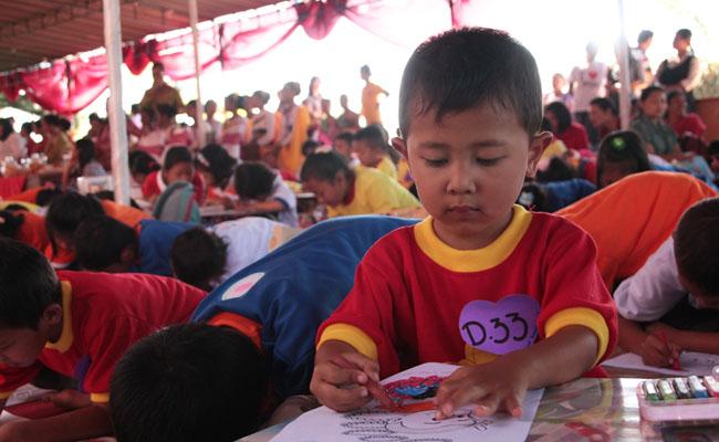 Pusdiklat Buddhis Bodhidharma Bandungan Gelar Waisak Inspiration untuk Mencari Bibit Buddhis
