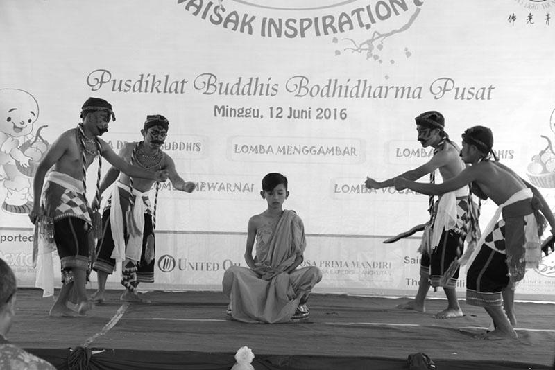 20160616 Pusdiklat Buddhis Bodhidharma Bandungan Gelar Waisak Inspiration untuk Mencari Bibit Buddhis 2