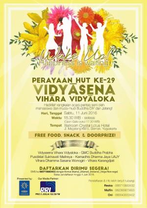HUT ke-29 Vidyasena Vihara Vidyaloka