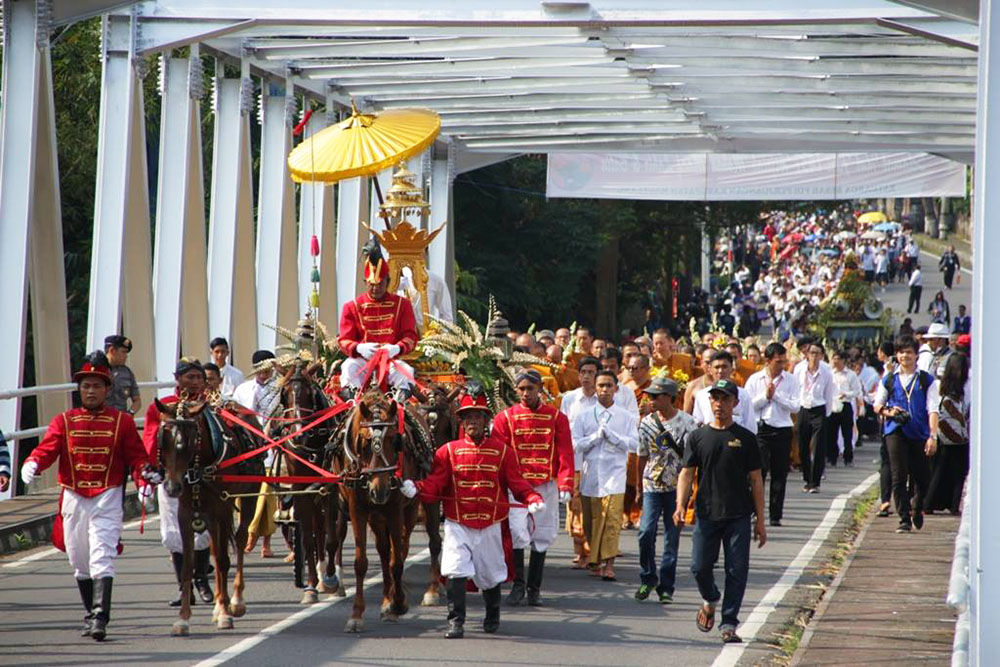 20160718 Megahnya Asadha Agung 2560 BE 2016 di Candi Borobudur 2