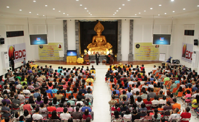 BDC Surabaya Gelar Dhamma Talk Selama Delapan Hari Berturut-turut