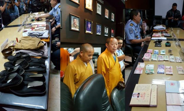 Petugas Imigrasi Jakarta Barat Tangkap Dua Bhiksu Palsu