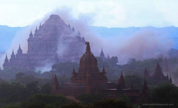 Lebih dari 185 Stupa Rusak Akibat Gempa Bumi di Myanmar