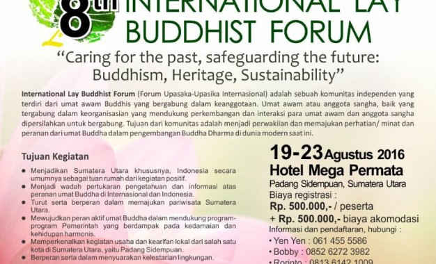 8th International Lay Buddhist Forum