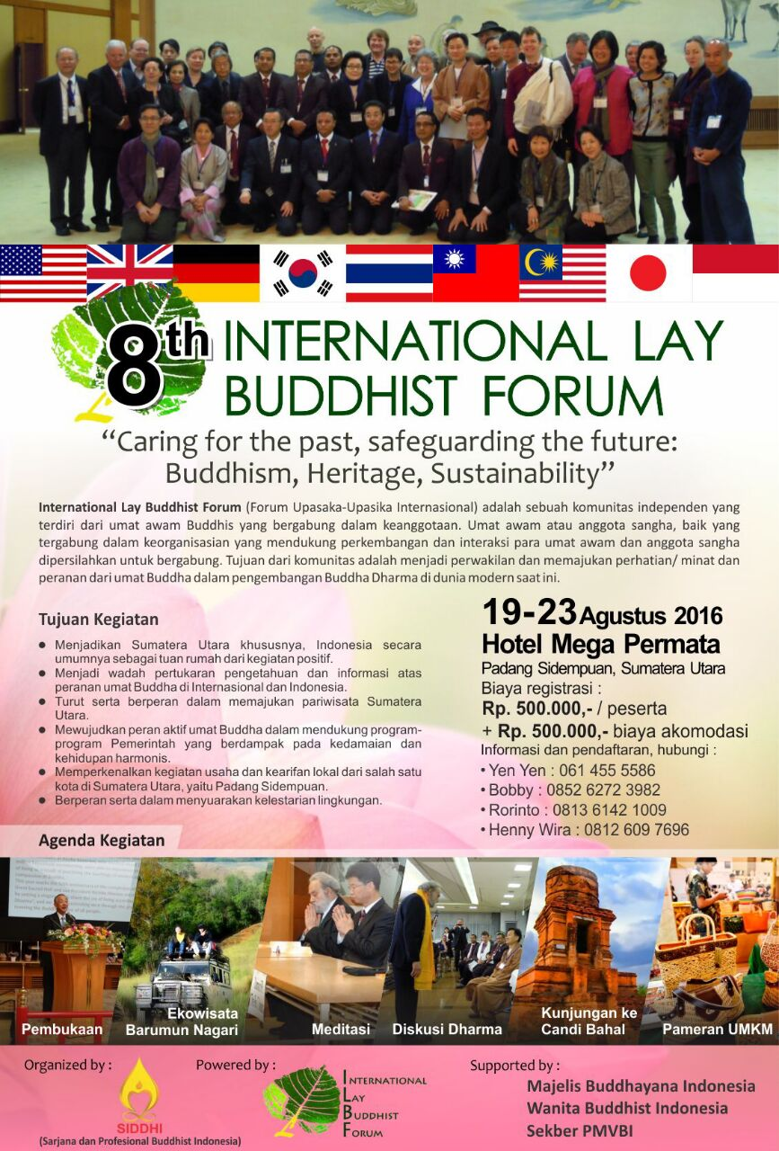 8th International Lay Buddhist Forum