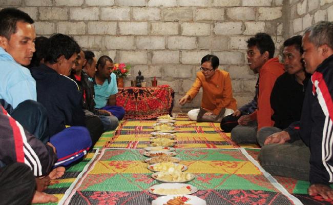 17 Dhammaduta dari Solo, Jepara dan Semarang Membabarkan Dhamma di Temanggung